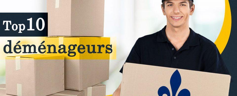 Trouvez avec quels dix déménageurs vous aurez la meilleure expérience.